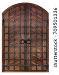 antique wooden antique wooden... | Shutterstock . vector #709501336