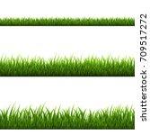 grass border | Shutterstock . vector #709517272