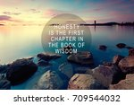 inspirational quote with phrase ... | Shutterstock . vector #709544032