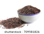 close up seed rice berry rice... | Shutterstock . vector #709581826