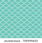 fish scales seamless pattern....   Shutterstock .eps vector #709599655