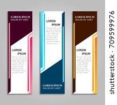 vector abstract design banner... | Shutterstock .eps vector #709599976