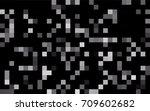 dark blue vector polygonal... | Shutterstock .eps vector #709602682