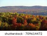 a fall landscape | Shutterstock . vector #709614472