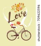 love card | Shutterstock .eps vector #709622596