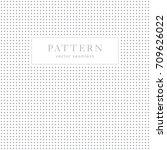 geometric dots seamless pattern.... | Shutterstock .eps vector #709626022