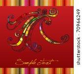 full colored lines | Shutterstock .eps vector #70966249