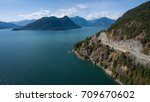 aerial panoramic view of the... | Shutterstock . vector #709670602