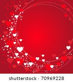 valentines background with... | Shutterstock .eps vector #70969228