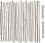 twenty five separated sticks... | Shutterstock . vector #70970443