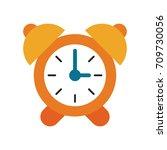 analog alarm clock icon image  | Shutterstock .eps vector #709730056