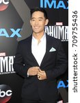 los angeles   aug 28   mike moh ... | Shutterstock . vector #709755436