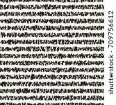 abstract mottled damaged stripe.... | Shutterstock .eps vector #709756612