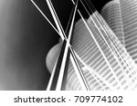 abstract buildings background... | Shutterstock . vector #709774102