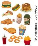 cartoon fast food icon | Shutterstock .eps vector #70979920