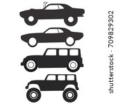cars icon | Shutterstock .eps vector #709829302