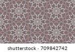 seamless pattern. fantastic... | Shutterstock .eps vector #709842742