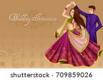 Vector Design Of Indian Couple...