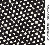 seamless primitive jumble... | Shutterstock .eps vector #709909402