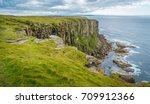 Scenic Cliffs In Dunnet Head ...