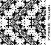 design seamless monochrome... | Shutterstock .eps vector #709931068