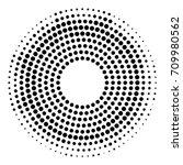 dots vector circular...   Shutterstock .eps vector #709980562