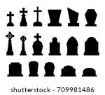 Set Of Tombstones With...