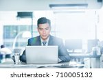 young asian businessman. image... | Shutterstock . vector #710005132