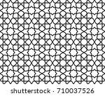 abstract pattern in arabian... | Shutterstock . vector #710037526
