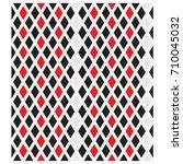 seamless vector rhomb pattern... | Shutterstock .eps vector #710045032