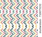 abstract colorful striped... | Shutterstock .eps vector #710075152