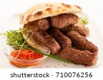 photo of cevapi  cevapcici ... | Shutterstock . vector #710076256