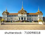 chakkri maha prasat throne hall ... | Shutterstock . vector #710098018