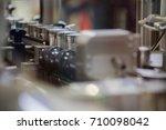 aluminum cans transfer on... | Shutterstock . vector #710098042
