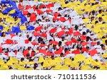 kuala lumpur  malaysia   29... | Shutterstock . vector #710111536