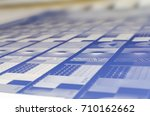 printing plant   computer to... | Shutterstock . vector #710162662