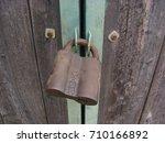 gate mechanism  veils  locks   Shutterstock . vector #710166892