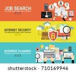 analytics information and...   Shutterstock .eps vector #710169946