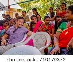 jaipur  india   february 25 ... | Shutterstock . vector #710170372