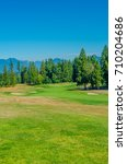 sand bunkers at the golf course. | Shutterstock . vector #710204686