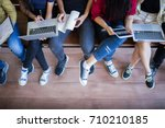 back to school education... | Shutterstock . vector #710210185