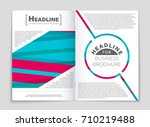 abstract vector layout... | Shutterstock .eps vector #710219488