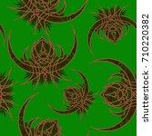 pattern in oriental style | Shutterstock .eps vector #710220382