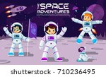 Kids Play And Have Fun In Space ...
