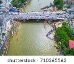 quang binh  vietnam  sep 2 ... | Shutterstock . vector #710265562