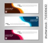 vector abstract design banner... | Shutterstock .eps vector #710330632
