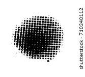 black spot. | Shutterstock .eps vector #710340112