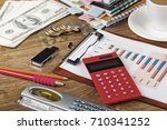 business accounting    Shutterstock . vector #710341252