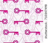 endless abstract pattern.... | Shutterstock .eps vector #710347498