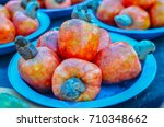cashew on the plate | Shutterstock . vector #710348662
